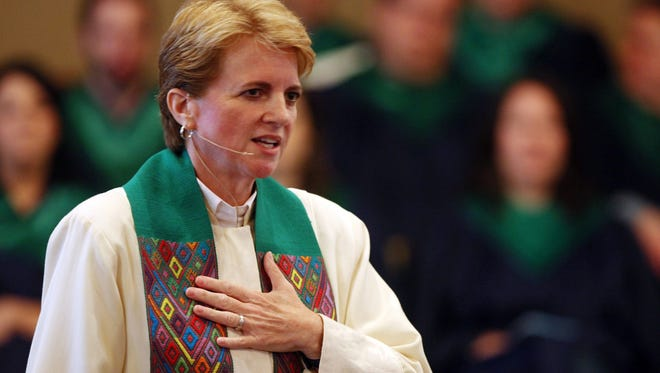 Rev. Cindy Andrews-Looper of Holy Trinity Community Church in Nashville leads a congregation with a large number of gay members.
