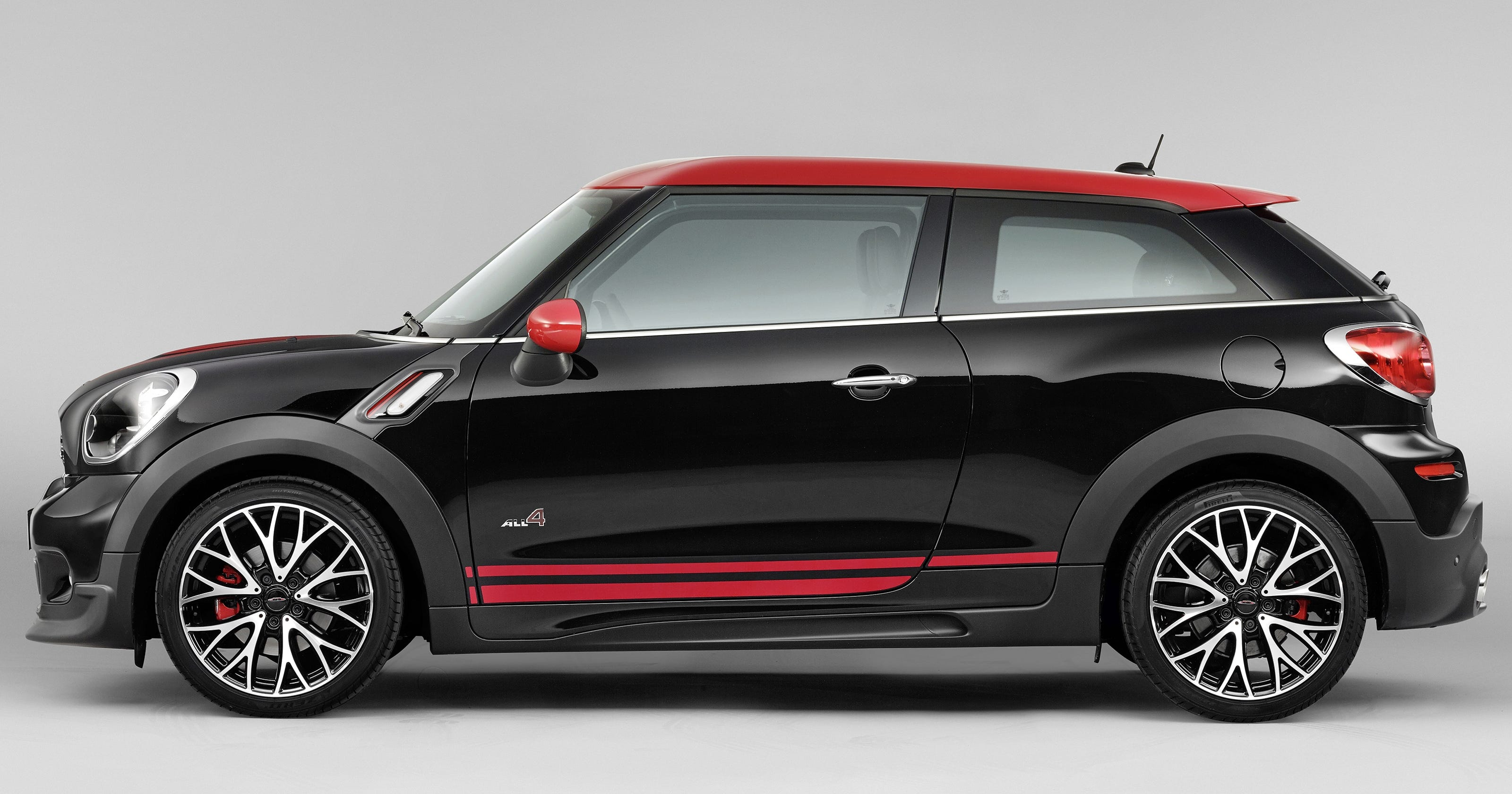 Paceman Jcw Go Fast All Wheel Drive Mini Coupe Er