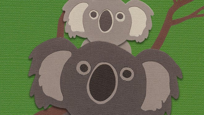 """By swiping away the gray color on the screen, kids discover animals hiding underneath in """"Uncolor for iPad."""""""
