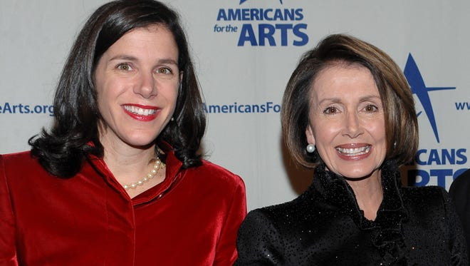 Filmmaker Alexandra Pelosi, left, is the daughter of House Minority Leader Nancy Pelosi, D-Calif.