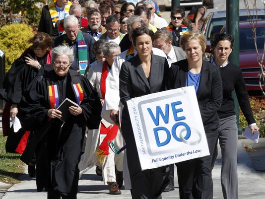 NC same-sex marriage march