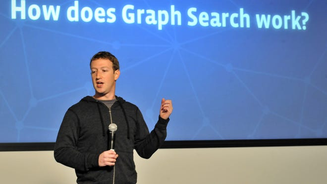 Facebook CEO Mark Zuckerberg speaks at an event at Facebook's Headquarters office in Menlo Park, California on January 15, 2012.