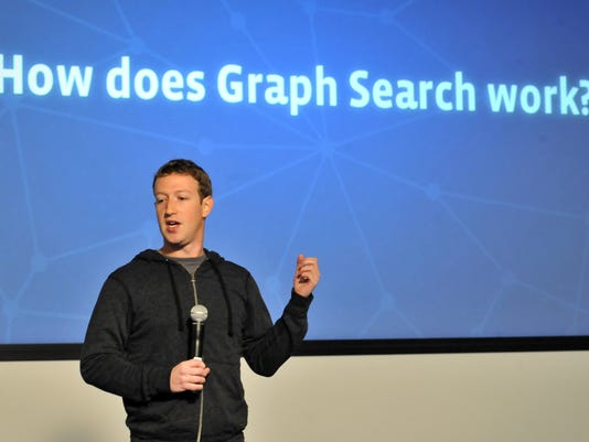 mark zuckerberg graph search