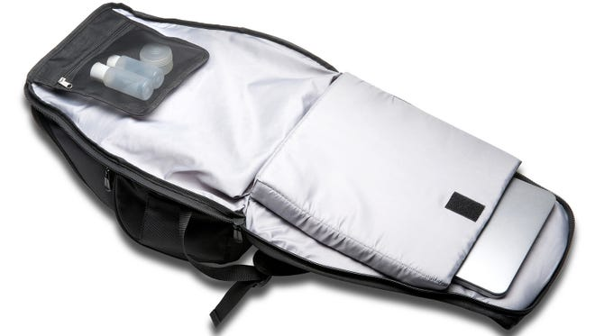 The Contour Overnight Backpack can store a 15-inch laptop and clothes for a weekend trip.