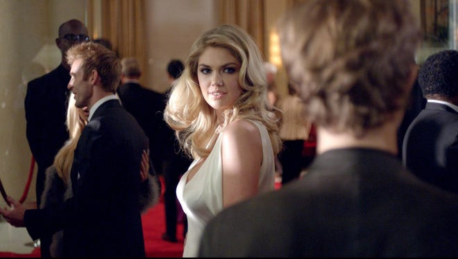 Kate Upton appears in a Mercedes-Benz 2013 Super Bowl ad.