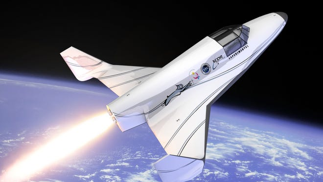 A Buzz Aldrin-backed promotion by the men's grooming brand AXE, to be featured in a 30-second Super Bowl ad, is offering 22 people the chance to win a suborbital spaceflight on XCOR Aerospace's Lynx vehicle.
