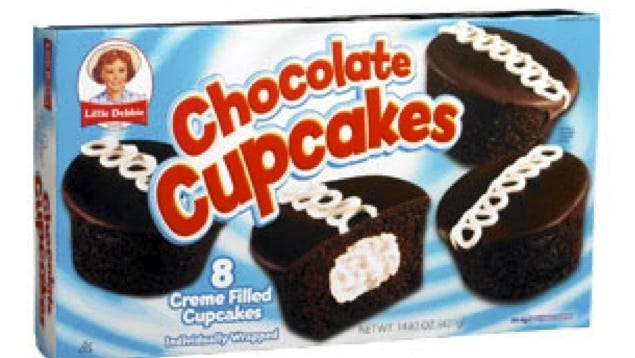 Little Debbie chocolate cupcakes, made by McKee Foods Corp., based in Collegedale, Tenn.