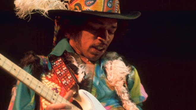 "People who listen to Jimi Hendrix's rock classic ""Purple Haze"" often hear the wrong lyrics."