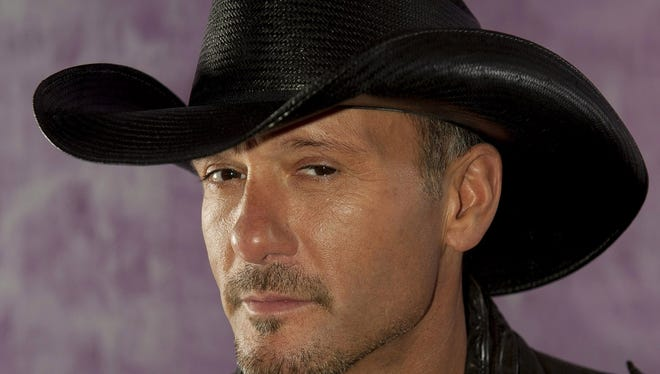 """The latest album from country music artist Tim McGraw, """"Two Lanes of Freedom,"""" is scheduled for release on February 5."""