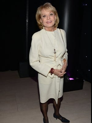 Barbara Walters, who was hospitalized after a fall last week, has since developed chickenpox.