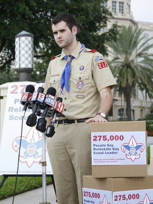 Zach Wahls, Eagle Scout and founder of Scouts for Equality, said his group will work with groups across the country to end exclusion of gays.