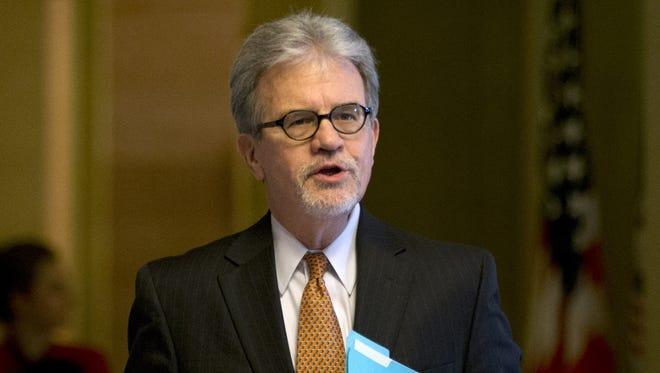 Sen. Tom Coburn, R-Okla., says gun laws need to be updated.