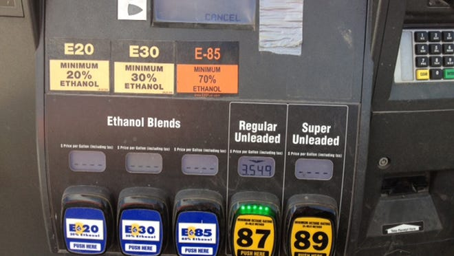 In Shelby, Iowa, gas-station customers have choices of three ethanol blends not found at many pumps throughout the country: E20, E30 and E85.