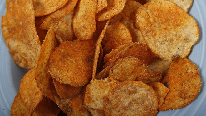 The wallop of flavor from Grippo's Bar-B-Q potato chips is a native Cincinnati flavor, just like chili laced with cinnamon or black raspberries in ice cream.