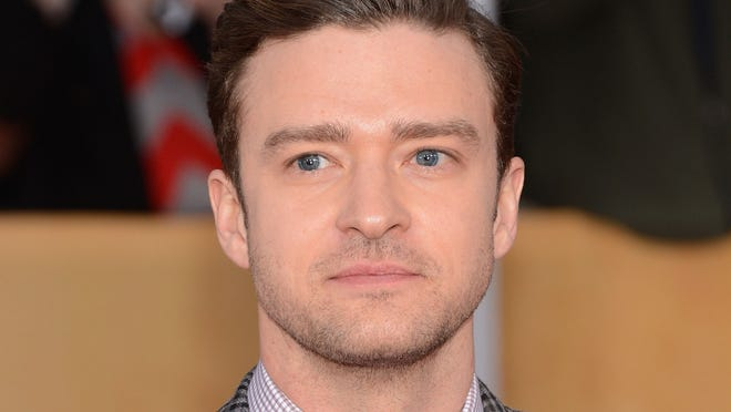 Justin Timberlake attends the 19th Annual Screen Actors Guild Awards.