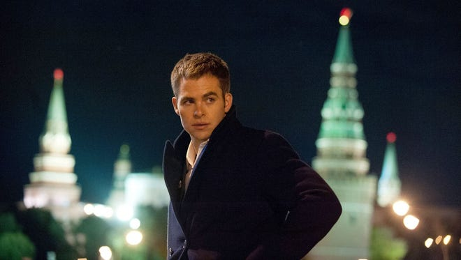 Chris Pine takes on the titular role in 'Jack Ryan.' The character has been portrayed on screen several times including stints by Harrison Ford, Alec Baldwin and Ben Affleck.