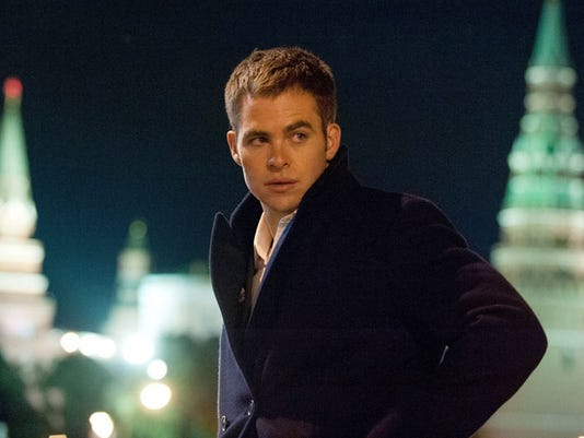 Chris Pine as Jack Ryan