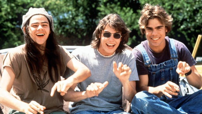 Rory Cochrane, Jason London and Sasha Jenson in Richard Linklater's 'Dazed and Confused.'