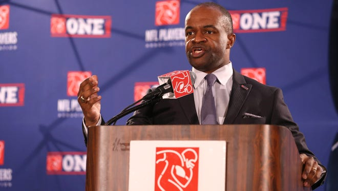NFLPA executive director DeMaurice Smith announces a $100M partnership grant with Harvard to study retired and active players in hopes of improving medical care.