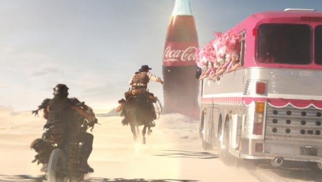 """Admeter 2013 Super Bowl _ The :60 """"Mirage"""" spot for Coke will make its television debut during the first half of the game, not necessarily the first quarter. Handout photo courtesy Wieden+Kennedy [Via MerlinFTP Drop]"""