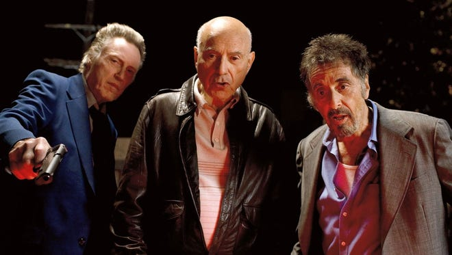 Christopher Walken, from, left, Alan Arkin and Al Pacino find their talents wasted in the sweet but hapless 'Stand Up Guys.'