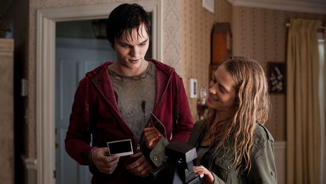 Nicholas Hoult and Teresa Palmer star in the zombie-meets-girl story 'Warm Bodies.'