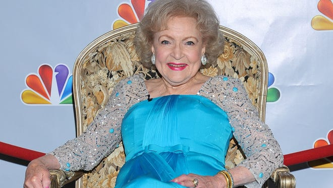 Betty White is shown prior to the taping of her first birthday special, 'Betty White's 90th Birthday: A Tribute To America's Golden Girl.'