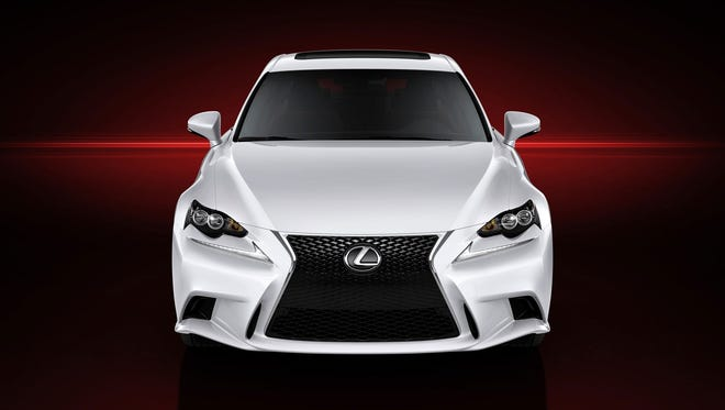 Toyota's redesigned Lexus IS unveiled last month at the Detroit auto show.
