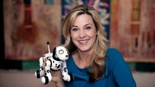 Zoomer is a life-like robodog from toy-maker Spinmaster.