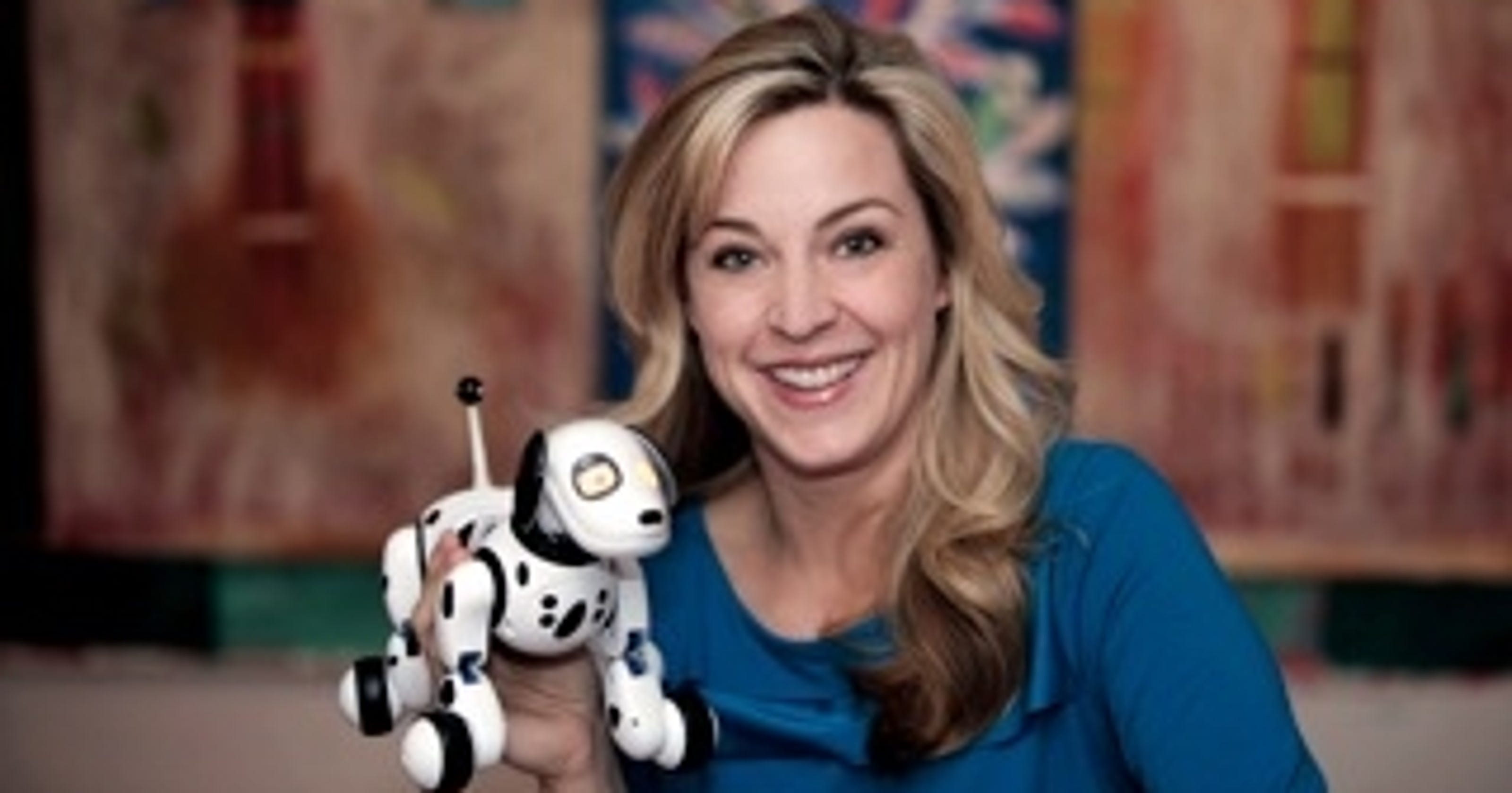 At Toy Fair 2013, robotic dogs, makeup mirrors and more