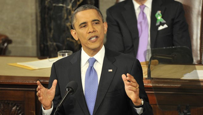 President Obama delivers the State of the Union Address on Tuesday.