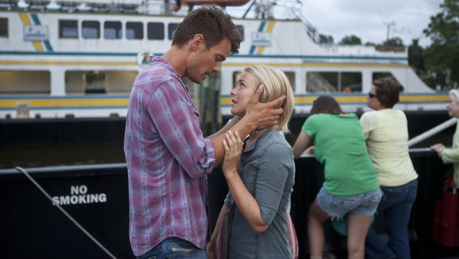 Josh Duhamel and Julianne Hough star in  the latest Nicholas Sparks adaptation, the sappy and predictable 'Safe Haven.'