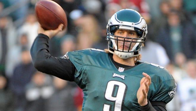 Philadelphia Eagles quarterback Nick Foles was 1-5 as a starter in his rookie season.