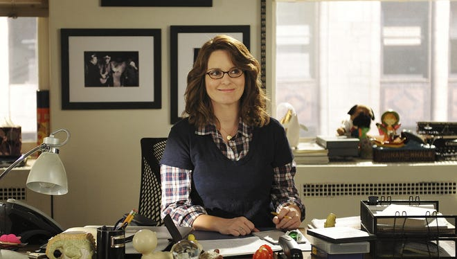 "Tina Fey as Liz Lemon in a scene from ""30 Rock."""