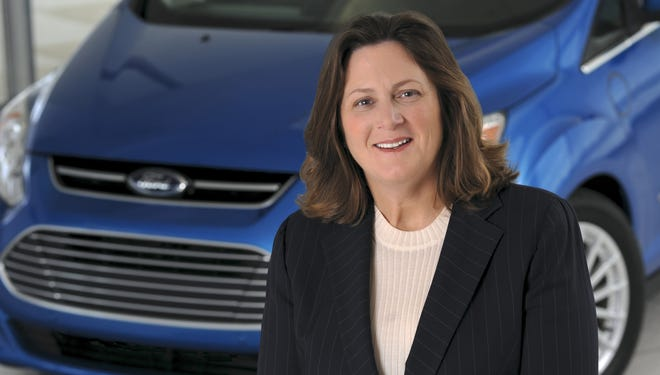 Elena Ford, great-great-granddaughter of founder Henry Ford has been named vice president, global dealer and consumer experience for Ford Motor.