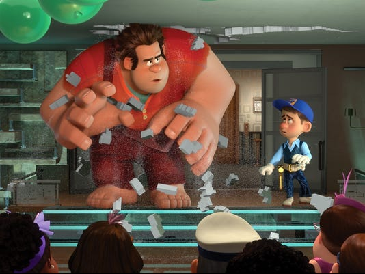 Best Animated: 'Wreck-It Ralph'