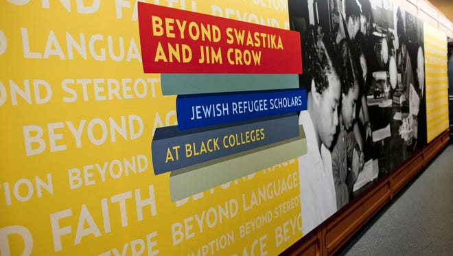 "The National Museum of American Jewish History's exhibit, ""Beyond Swastika and Jim Crow: Jewish Refugee Scholars at Black Colleges"" tells the story of Jewish academics from Germany and Austria who came the the U.S. after being dismissed from their teaching positions in the 1930s."