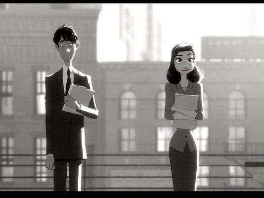 Nominated short: 'Paperman'