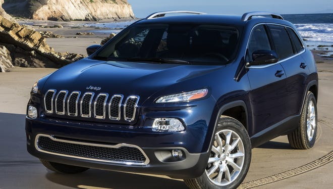 Chrysler brings back the Cherokee name on a mid-size SUV that goes on sale the thrid quarter.