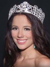 Melissa King is shown in a photo from the Miss Delaware Teen USA website.