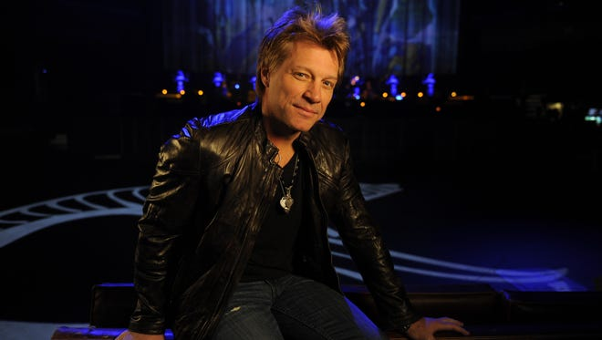 Jon Bon Jovi at the Mohegan Sun  Resort in Connecticut. His band's new album, 'What About Now,' arrives on March 12.