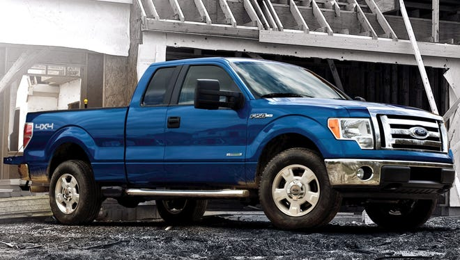 Sales of Ford's F-series pickup, the best-selling vehicle in the U.S., rose 15% in February to 54,489.
