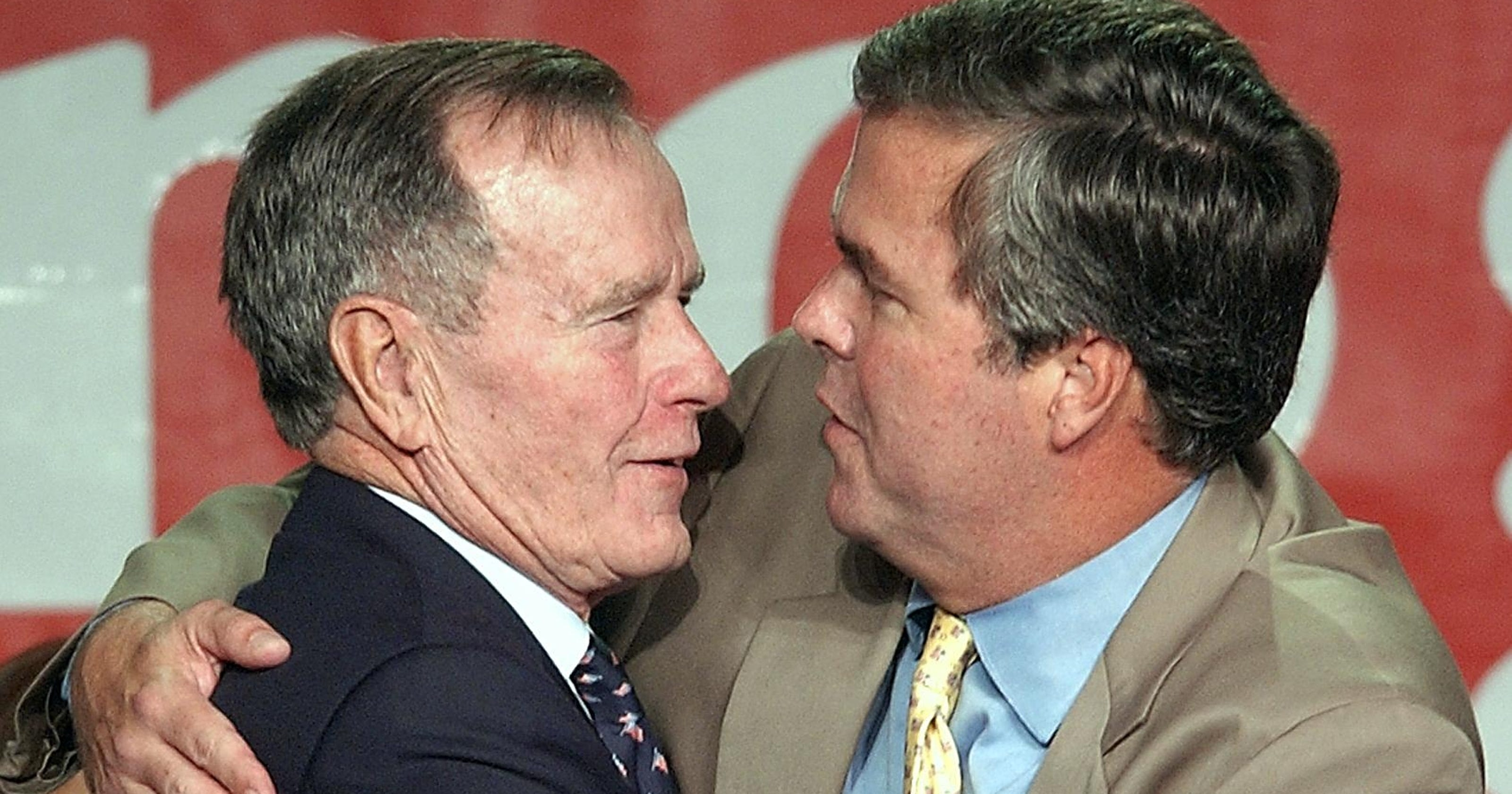 George bush threesome muscles long