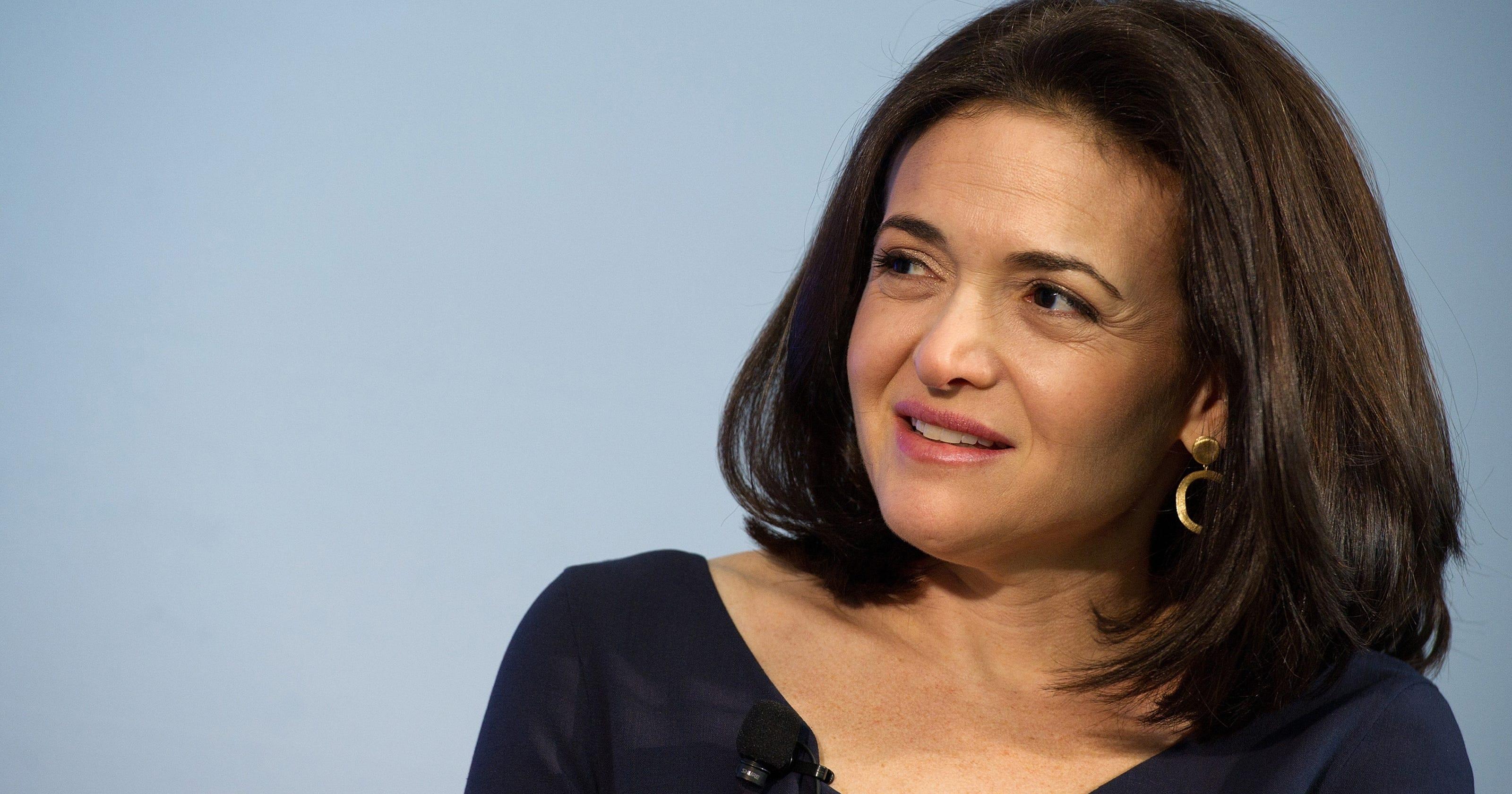 Facebook exec Sheryl Sandberg: $845 million a year