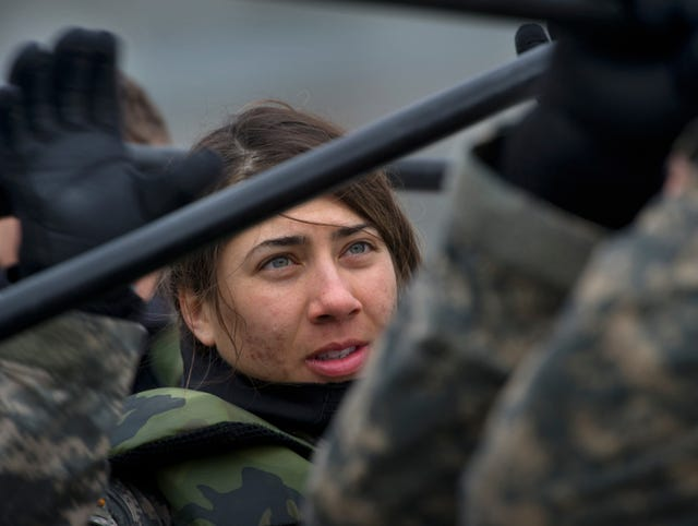 Women prove themselves in grueling Army course