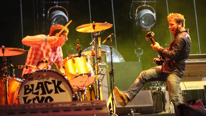 The Black Keys perform at the Coachella Valley Music and Arts Festival on April 15, 2011 in Indio, Calif.
