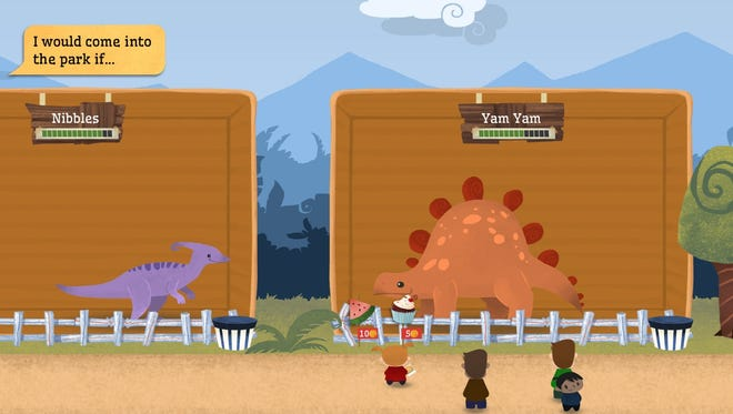 """'Dinorama,' from thesixtyone, Inc. is a new dino-zoo simulation game that lets kids play with dinosaurs as they learn to manage money while running their own business."""""""