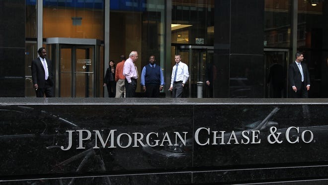 JPMorgan Chase office in New York City.
