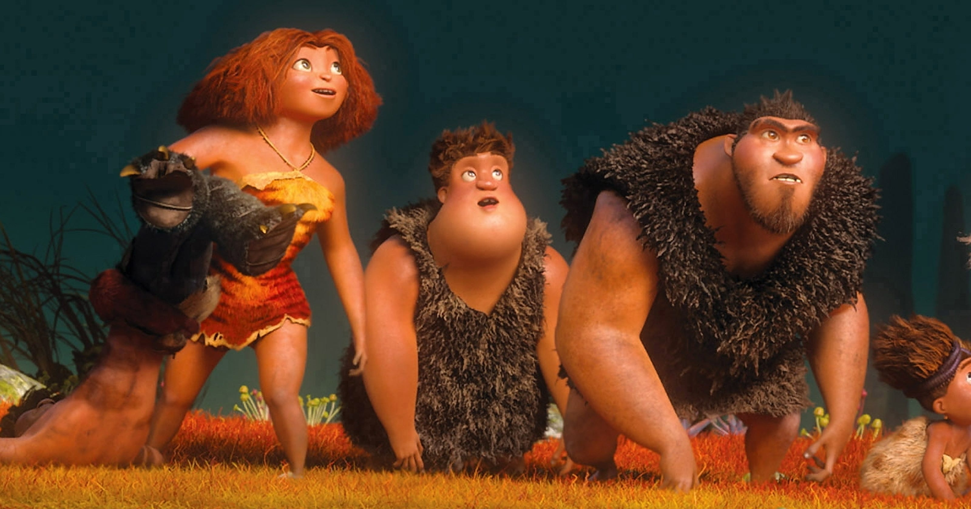 the croods hunts down humor gathers great talent