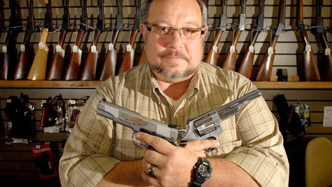 Paul Vondrasek, owner of Diamond V Outdoor Sports in Lafayette, Ind., is disappointed in Comcast Cable's decision to prohibit gun advertising because he said he hasn't had much luck with radio ads.